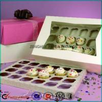 Quality Wholesale 24 Cupcake Paper Box With Window wholesale