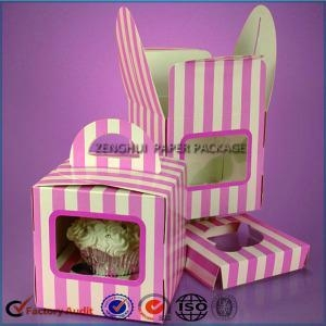 Cheap Cheap Single Cupcake Box Wholesale Price for sale