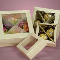 Quality Square Chocolate Candy Boxes Wholesale Packaging wholesale