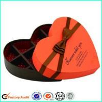 Buy cheap Fancy Heart Shaped Chocolate Box Packing from wholesalers