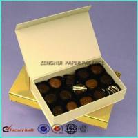 Buy cheap Custom Magnetic Chocolate Packaging Box Truffle from wholesalers
