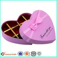 Buy cheap Fancy Pink Chocolate Box Packaging from wholesalers
