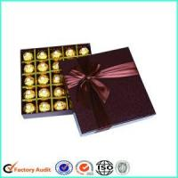 Buy cheap New 2017 Chocolate Packaging Texture Boxes Supplies from wholesalers