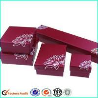 Cheap Luxury Cardboard Jewerly Packaging Box Set for sale