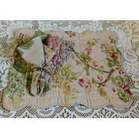 Quality Large Roses Quilted Placemat and Matching Napkin wholesale