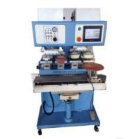 China Ink Tray Pad Printer 4-color Open Ink Well Pad Printing Machine for Plastic Toy on sale