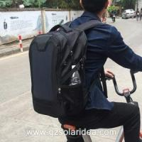 Buy cheap Chargeable High Efficiency Black Solar Panel Backpack from wholesalers