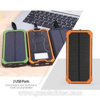 Buy cheap Mobile 15000mAh Portable Battery Charger Solar Panel from wholesalers