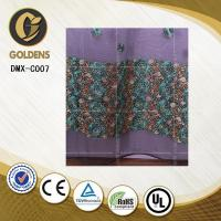 China Jacquard embroidery lace curtain fabric made in china DMX-C007 Curtain on sale