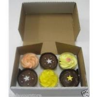 Quality SPECIALS Sturdy Cupcake Boxes for 6 cakes wholesale