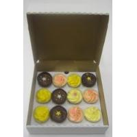 Quality Boxes 12 Cupcake Boxes (sturdy) wholesale