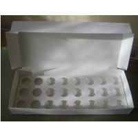 Buy cheap Boxes 24 Mini Cupcake Boxes with Inserts from wholesalers