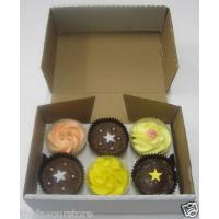 Quality Boxes 6 Cupcake Boxes (Sturdy) wholesale