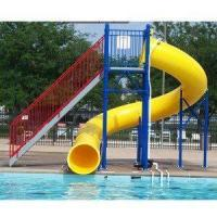 Quality Water Play Park Fiberglass Water Tube Slide For Swimming Pool wholesale