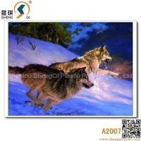 China 3D printing 3D Animal Lenticulre Pictures of Sonw Wolfs, A2007 on sale