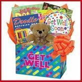 Quality Kids Get Well Gift Box of Things to Do wholesale