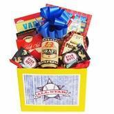 Quality All Star Mens Gift Basket with Puzzle Books and Snacks wholesale