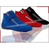 China 2014 Fashion Design Latest Car Kart Racing Shoes Breathable Leather High-Top Men's Shoes accessories on sale