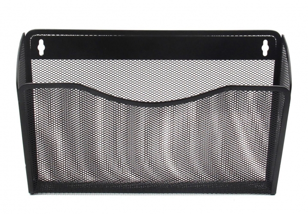 Cheap EasyPAG Mesh Collection 3 Pocket Wall Mounted Letter File Organizer for sale