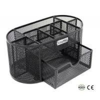Buy cheap EasyPAG 9 Compartment Mesh Desk Organization with Drawer from wholesalers