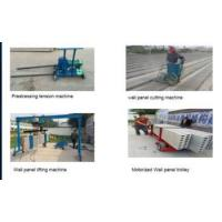 Buy cheap lightweight precast concrete hollow core wall panel making machine from wholesalers
