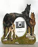 China Horse Picture Frame - Horse Family on sale