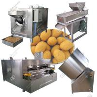 China Sugar Flour Coated Peanuts Production Line|Honey Coated Peanut Making Machine on sale