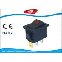 Quality KCD1-106 Series Electrical Rocker Switches ON OFF or ON ON OFF With Light Indication wholesale