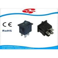 Quality KCD1-104 series 4 Pins Electrical Rocker Switches 19*13mm With ON OFF Function wholesale