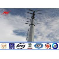 China 10.5M 800 DAN Steel Power Pole Double Circuit Transmission Line Electric Utility Poles on sale