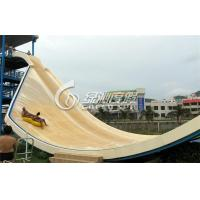 China Spray Park Equipment Water Pool Slides Surf n Slide Water Park , Anti UV and Safety on sale