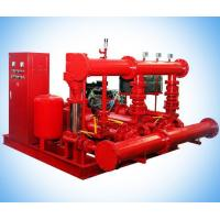 China EDJ Packaged Electric & Diesel Hydrant Booster Fire Fighting Pump System on sale