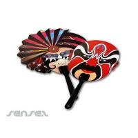 Quality Promotional Custom Shaped Fans wholesale
