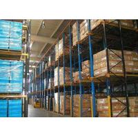 Buy cheap 5000mm High Volume Drive In Pallet Racking Cold Rolled Assemble Structure product