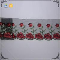 Quality Wholesale Voile Net Embroidery Lace Wedding Veils With Lace Trim wholesale
