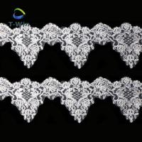 Quality New Fashion Beads Flower Embroidery Lace Trimming For Garment Accessory wholesale
