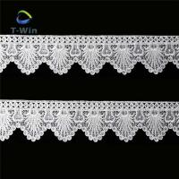 Quality Embroidered lace trim lace ribbon for garment wholesale