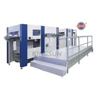 Quality Post Printing Machines AD Series Flat Bed fully Automatic Die Cutting Machines wholesale
