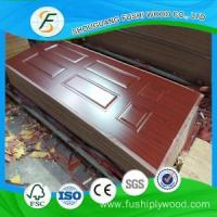 China Melamine MDF Door Skin 870mm on sale