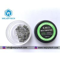 Quality Pre-built Coil Mix Twisted Coil 0.45 Ohm -- Kanthal A1 wholesale