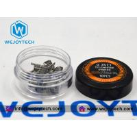 Quality Pre-built Coil Tri-twisted Clapton Coil 0.35 Ohm -- Kanthal A1 wholesale