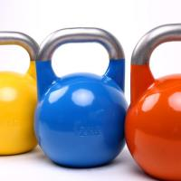 Quality Stainless Steel handle Competition Kettlebell wholesale