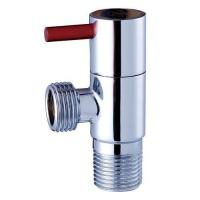 Cheap Bathroom Chrome Plated Brass Angle Valve for sale