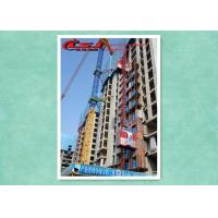 Quality 1000kg Vertical Construction Elevator Two Cage , Construction Material Lifting Hoist Lift wholesale
