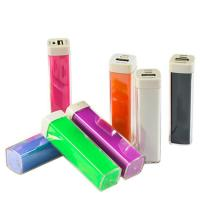 China Cheap plastic Lipstick Power Bank promotional gift Portable One Battery Charger on sale