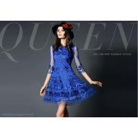 China Women's tulle dress with emboridery on sale