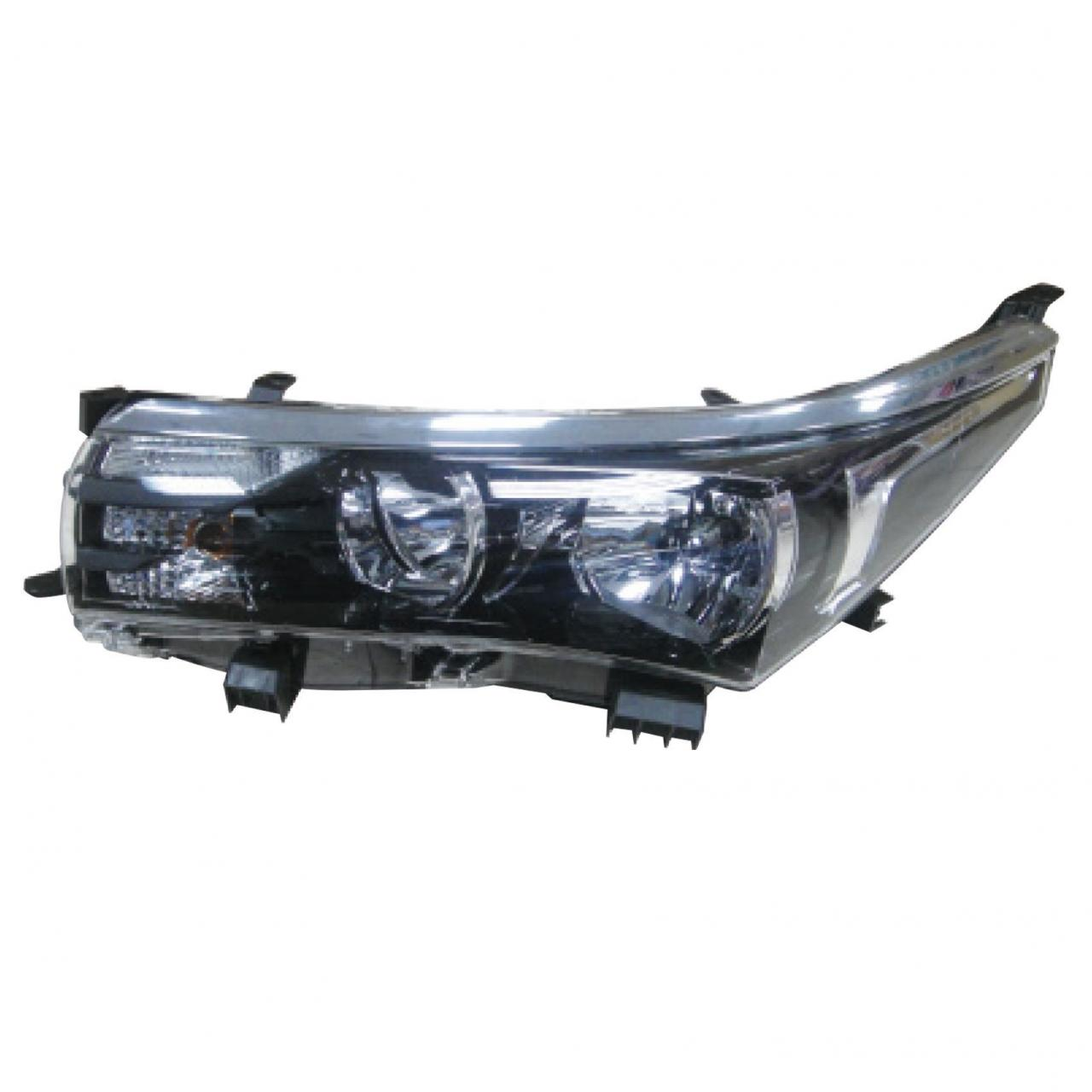 Quality JAPANESE AUTO corolla 2014 head lamp middle east wholesale