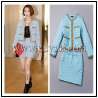 Quality Women Fashion Trendy Jacket Blouse and Skirt Set China Wholesale wholesale