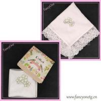 China bridal sewing handkerchief lace trim on sale