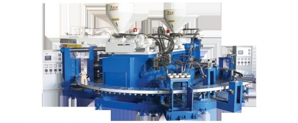 Cheap Full automatic multi-functional PVC blowing injection moulding machine for sale